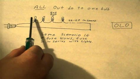 How Christmas Lights Work Why When One Bulb Burns Out