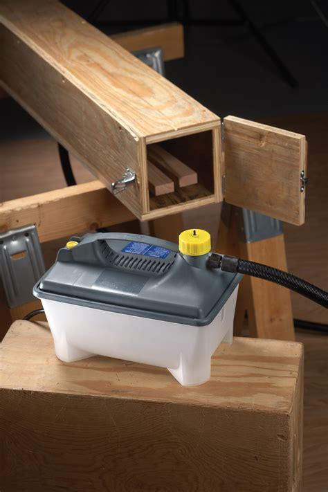 tool test earlex steam generator  bending wood