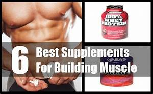 6 Best Supplements For Building Muscle