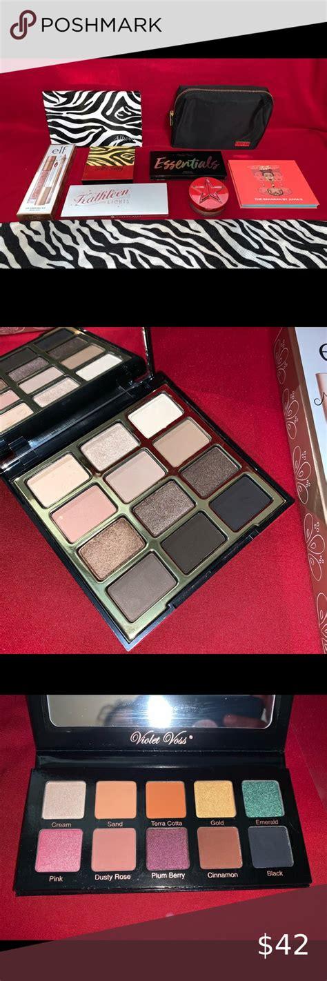 makeup eyeshadow palette lot jeffree star milani