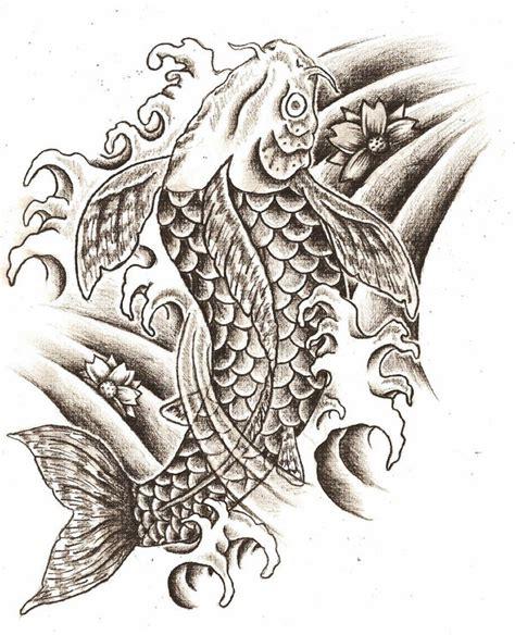 koi fish tattoo designs koi fish tattoo