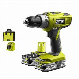 Perceuse Visseuse Percussion 18v : ryobi lcdi18022 perceuse visseuse percussion one ~ Edinachiropracticcenter.com Idées de Décoration