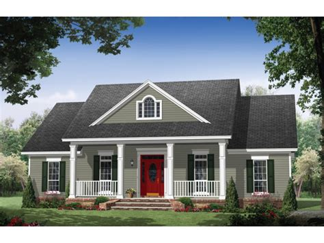 colonial home designs eplans colonial house plan colonial elegance 1951 square feet and 3 bedrooms from eplans