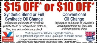 Oil Change Coupons Pictures
