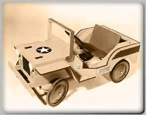 foot powered army jeep plans wood working plans pinterest projects ps  jeeps