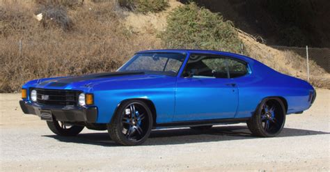 1972 chevrolet chevelle ss custom by forgiato hot cars