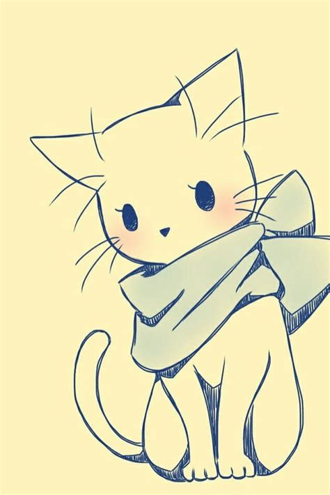 cat cartoon drawing ideas  pinterest learn