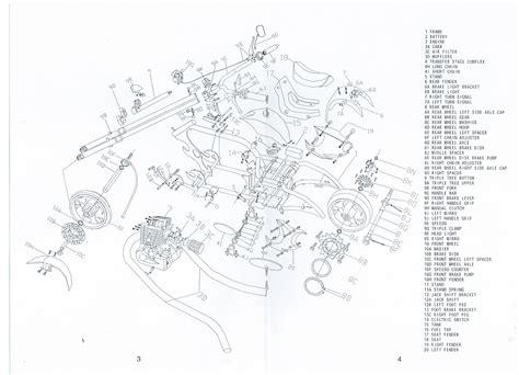 Goped Motor Diagram