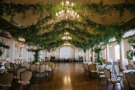 Country Club Décor For Weddings Wedding ceiling Wedding