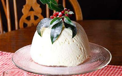 christmas recipes ice cream christmas pudding