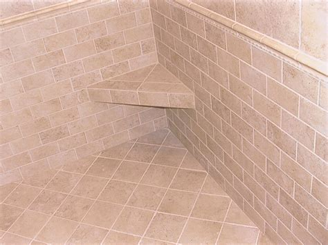 tile showers with seats tile shower seat