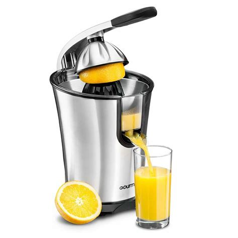 citrus juicer juice orange electric press amazon squeezer juicers fruit gourmia extractor lemon machine stainless steel qt rated easy maker
