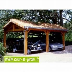 Abri Voiture En Bois : charpente en kit abris voitures abri voiture charpente ~ Nature-et-papiers.com Idées de Décoration
