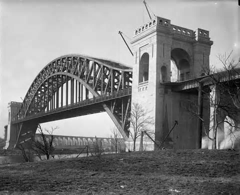 Hell Gate Bridge New York