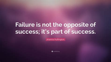 arianna huffington quote failure