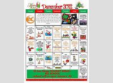 December Activity Calendar is here! EC San Diego Blog