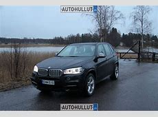 Autohullutfi test 2014 BMW X5 F15 M50d review