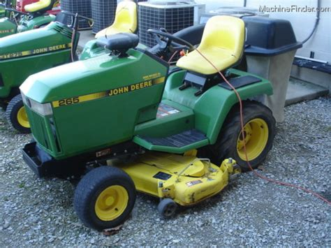 used mower deck for deere 265 1993 deere 265 lawn garden and commercial mowing