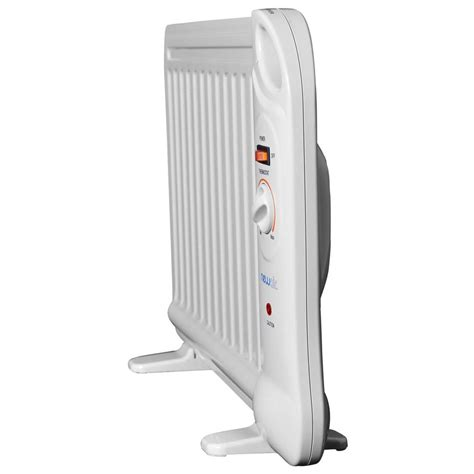 400w Electric Oil Filled Under Desk Portable Space Heater