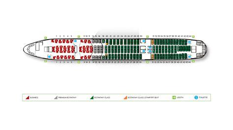 plan si鑒es boeing 777 300er flotta alitalia