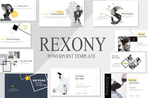 rexony creative powerpoint template powerpoint templates