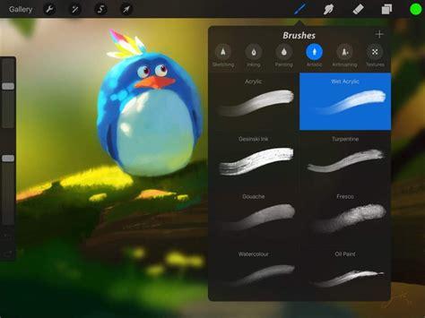 procreate huge update ipad pro apple pencil