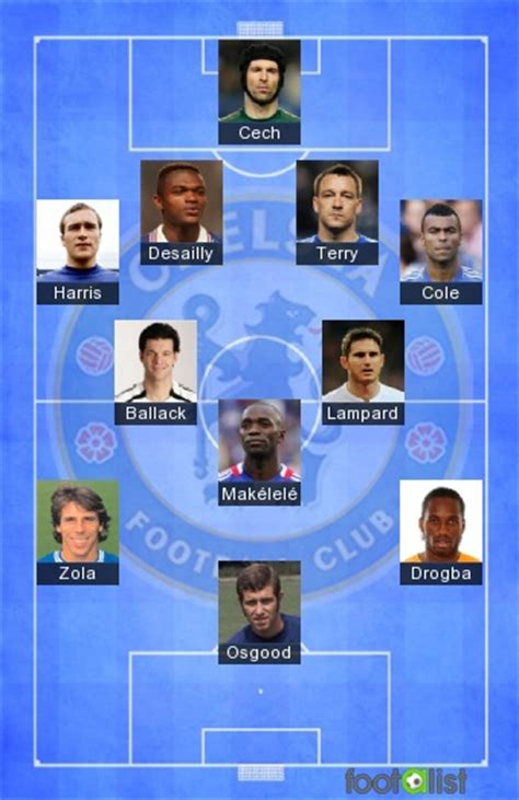 Chelsea FC Legends by soccerstagg :: footalist