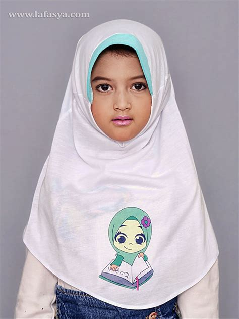 hijab  anak sma gamis murni