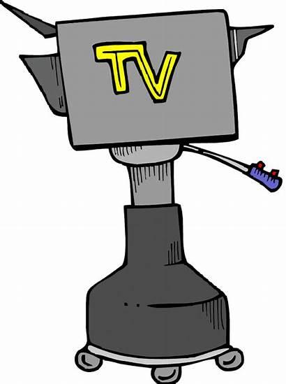 Tv Camera Television Clipart Clip Closing Studio