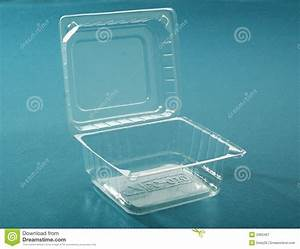 Transparent plastic box stock image. Image of container ...