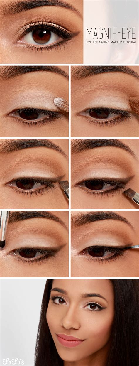 great makeup tutorials    eyes  bigger fashionsycom
