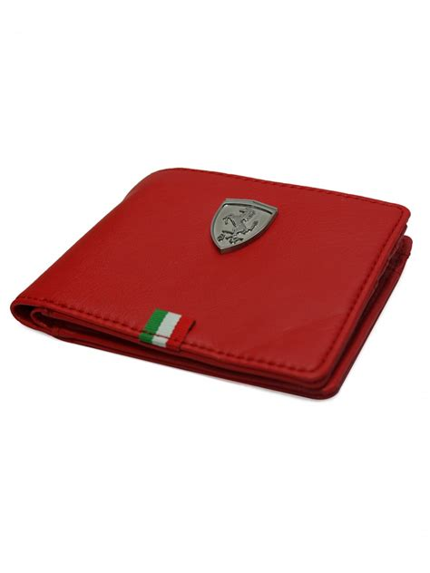 In the fast pace of daily life, the scuderia ferrari purses by puma prove their qualities and charm as an accessory with their understated elegance. Puma Men's Ferrari Ls Wallet   07267702-rosso Corsa   Cilory.com