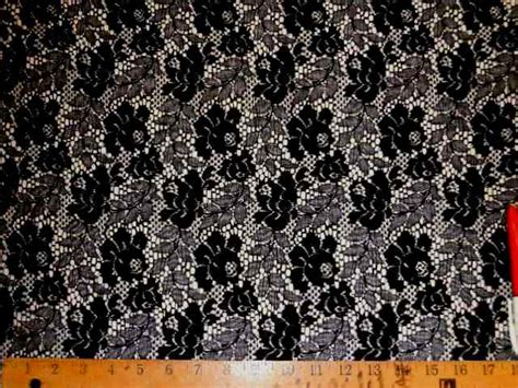 Lace Drapery Fabric by Black Lace Sheer Drapery Fabric
