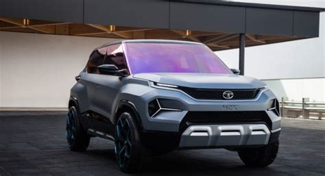 Tata H2x Micro-suv Concept Breaks Cover At 2019 Geneva