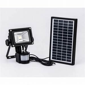 Projecteur Exterieur Avec Detecteur De Mouvement : projecteur solaire d tecteur de mouvement 800 lumens ~ Edinachiropracticcenter.com Idées de Décoration