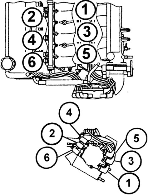 2005 Avalon 3 5l Engine Diagram by Repair Guides Firing Orders Firing Orders Autozone