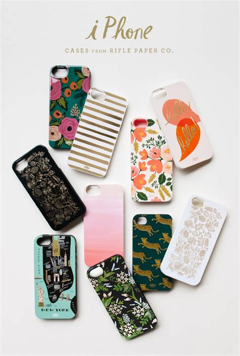 rifle paper co rifle rifle paper co iphone cases