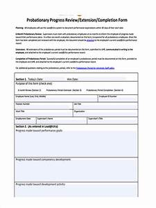 Simple Order Form Template Free 11 Probation Review Forms In Pdf Ms Word