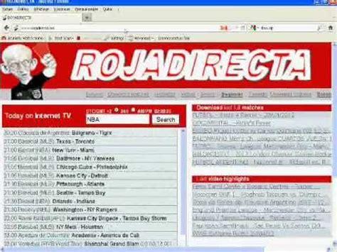 Rojadirecta és el major índex d'esdeveniments esportius del món. شرح موقع rojadirecta.me مشاهدة المباريات مباشرة LIVE ...