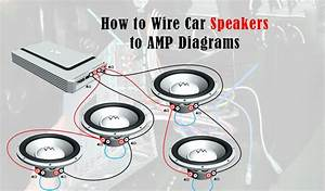 How To Wire Car Speakers To Amp Diagrams   U2014 Myaudiolabs
