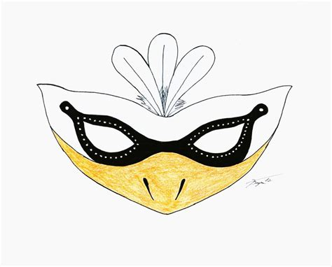 Swan Mask Template by Swan Mask By Autumn Maple On Deviantart