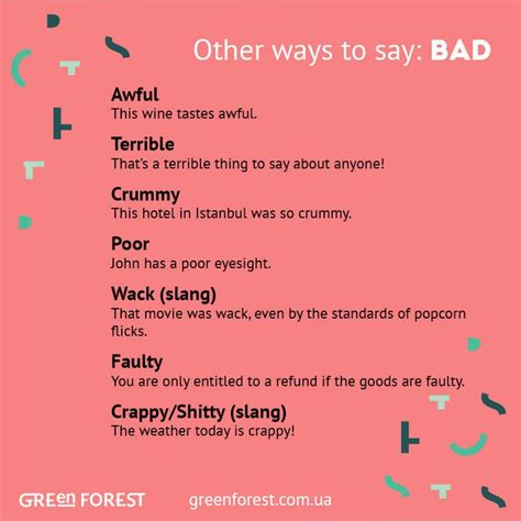 47 Best Images About Other Ways To Say (synonyms For The Popular English Words) On Pinterest