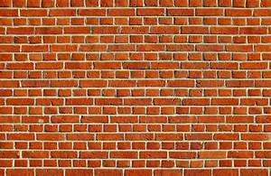 Red Brick Wallpaper Wall Mural