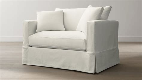 Chair And A Half Sleeper Sofa by Willow Sleeper Sofa Snow Crate And Barrel