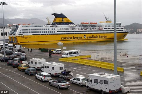 Boat Crash Corsica by 77 Terrified Passengers And Crew Flee A Ferry In Marseille