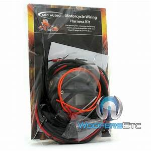 Arc Audio Motorcycle Wiring Harness Harley Davidson Amps