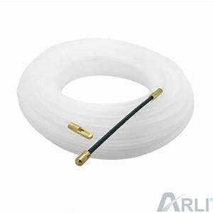 Zugdraht Für Leerrohre : kabel einziehhilfe 20m kabeleinziehhilfe f hrungsfeder se ~ Watch28wear.com Haus und Dekorationen