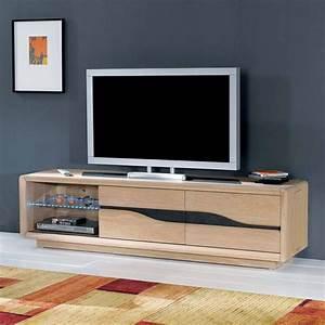 Meuble TV Large 2 Portes Cram Meubles BOUCHIQUET