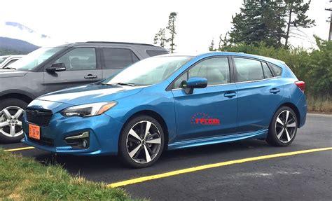 Subaru Wrx Hatchback 2017 by Spied In The 2017 Subaru Impreza Hatchback The