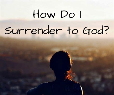 How Do I Surrender To God?  About Islam